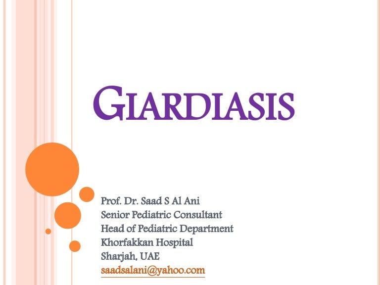a giardiasis földrajzi eloszlása