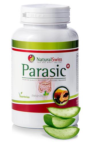 Parazita tabletta felnőtteknek. NaturalSwiss Parasic anti-parazita kapszula - 110 db
