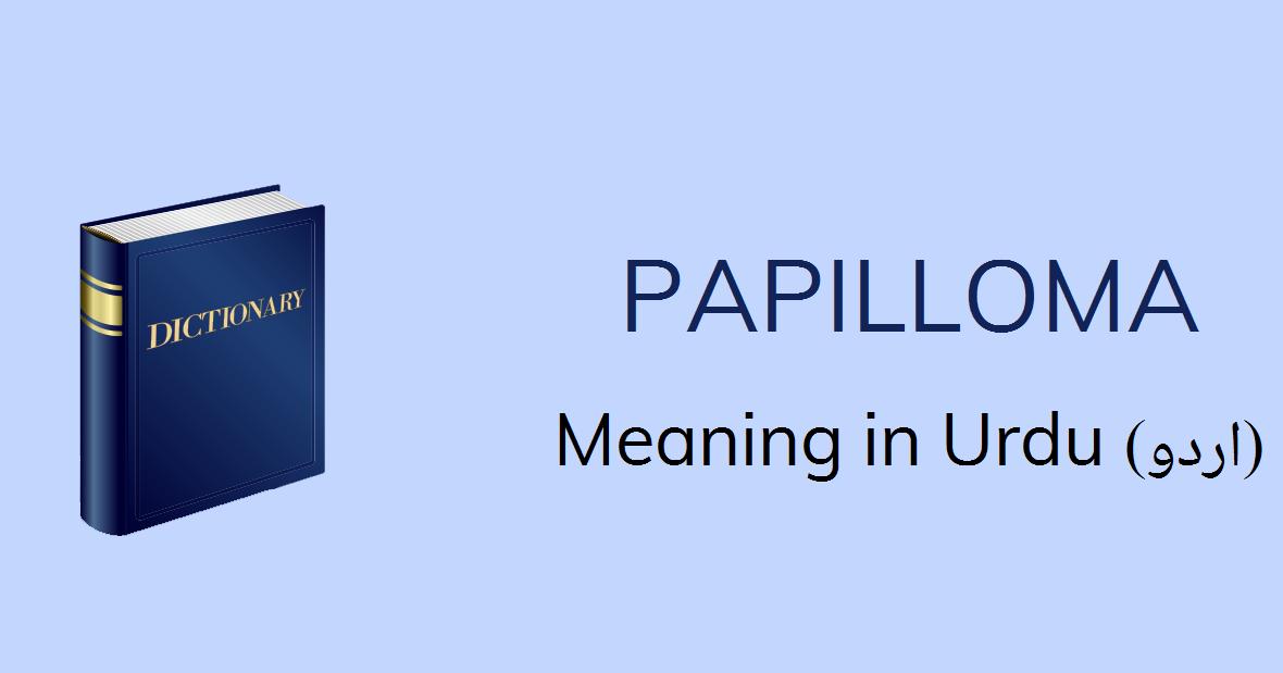 hpv szó jelentése urdu nyelven
